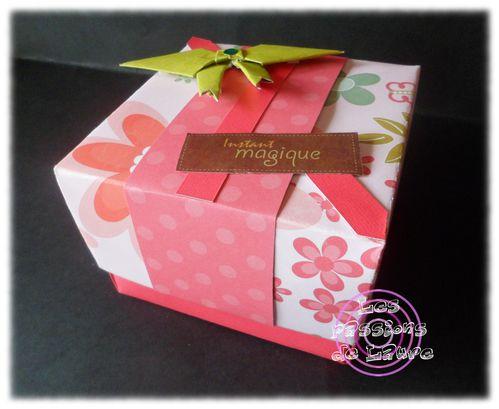 Boîte (feuille de 30,5 cm)