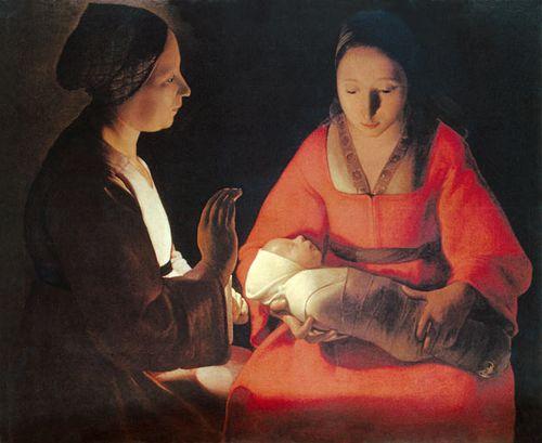 Georges de la Tour Le nouveau-né