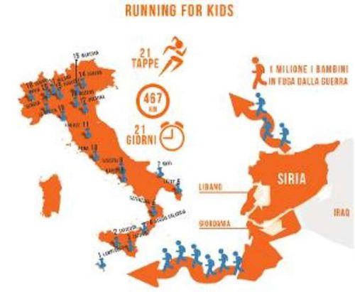 Running for Kids. Ivana Di Martino, testimonial di Terre des Hommes, percorrerà 467 km attraverso l'Italia per sostenere i bambini migranti