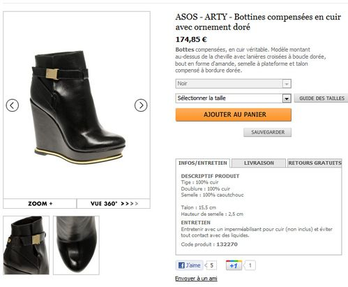 chaussures asos 10