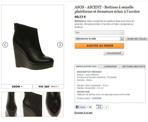 chaussures asos 6