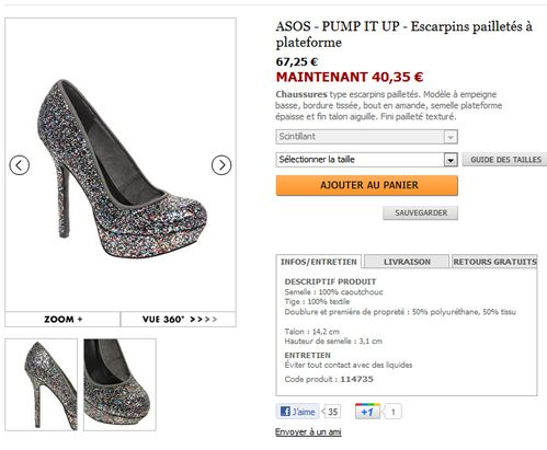 chaussures asos 7