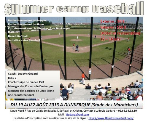 Summer Camp 2013 Flyer