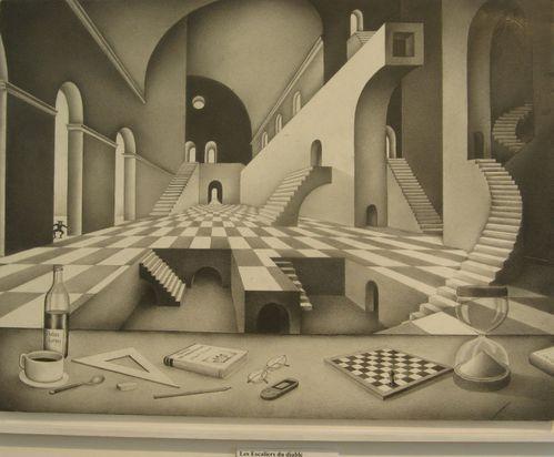 maison des arts montulé Art dans la ville 07-12 escalier d
