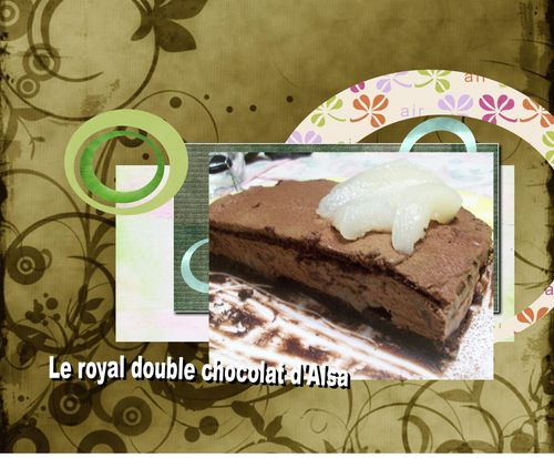 le royal double choco