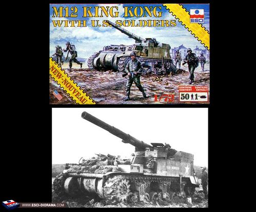 esci-8605---M12-King-kong-with-US-soldiers