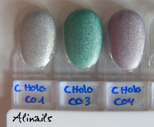 Catrice Luxury Lacquers Holomania swatches