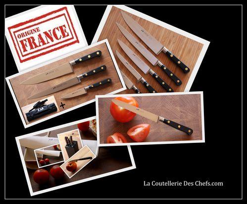 Couteau de cuisine pro origine france la coutellerie des - Comment aiguiser un couteau de cuisine ...