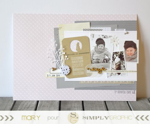 Mary pour Simply Graphic page hiver 1