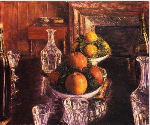 Caillebotte nature morte