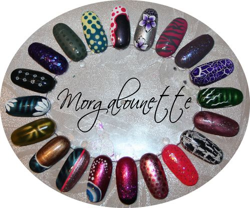 onglier idée nail art by Morgalounette (1)