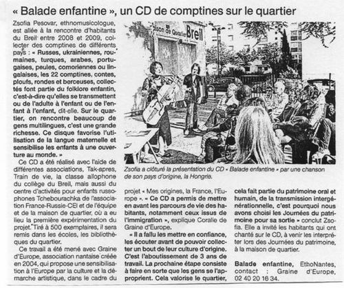 Ouest France 22-09-10