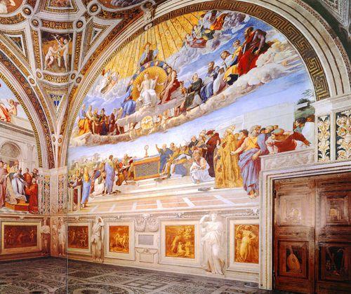 Raphael chambre de la signature vatican (2)