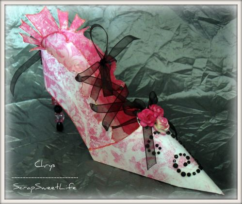 Chaussures et corset glamour (5)