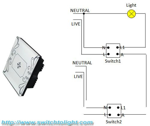 Difference between traditional two-way switch and electrical touch ...