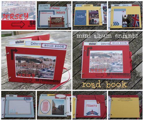 montage mini enfants road book