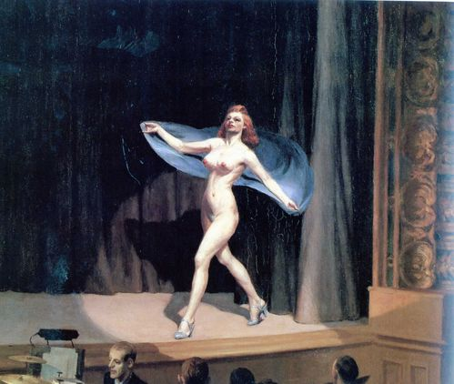 EDWARD HOPPER014Girlie show