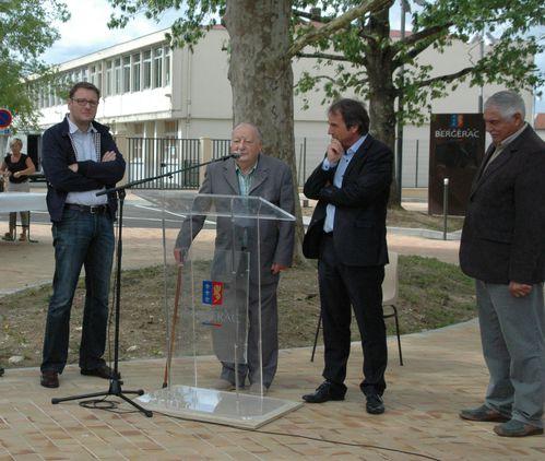 Inauguration rue Rodolf Noureev
