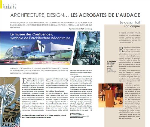 Article Trait DECO evrard et devinast design studio