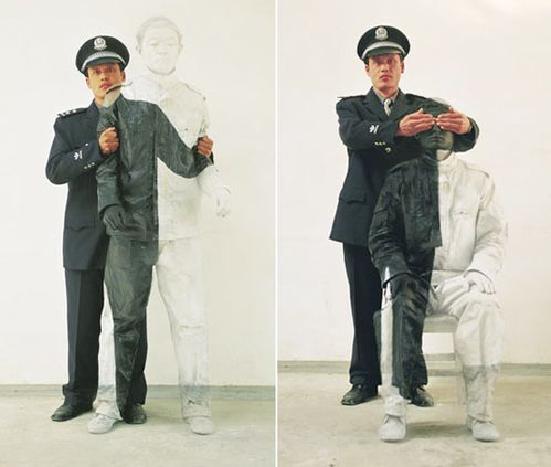 LIU BOLIN camouflage+16+and+17