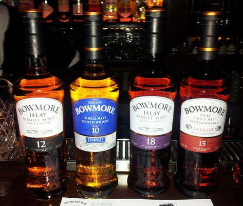 le forum paris whisky bowmore