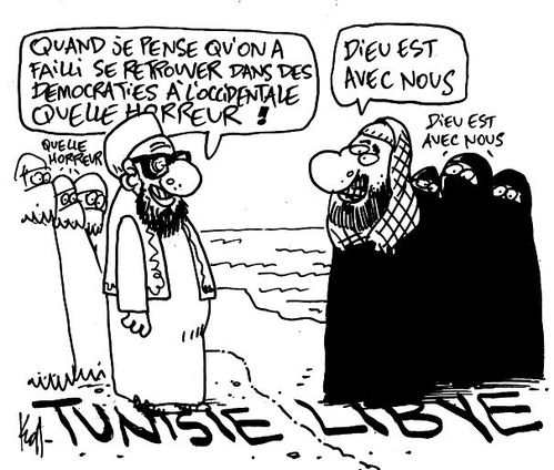 islamistes tunisie libye