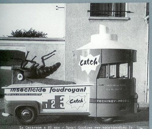 36 1964 Estafette catch