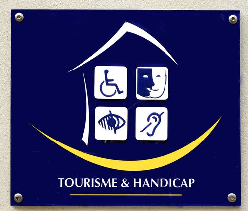 plaque signalétique Label Handicap