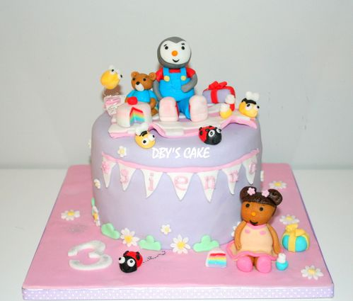 Exceptionnel Gâteau Tchoupi & Doudou Girly 2 - Dby's CaKe DY18