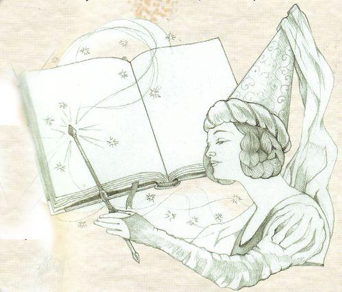 Fée livre transformée