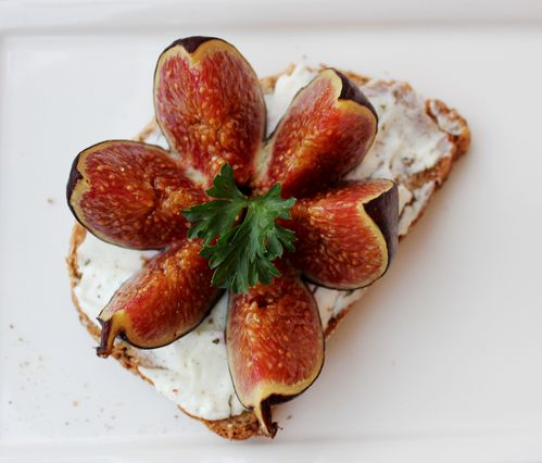 tartines figues chévre miel 2