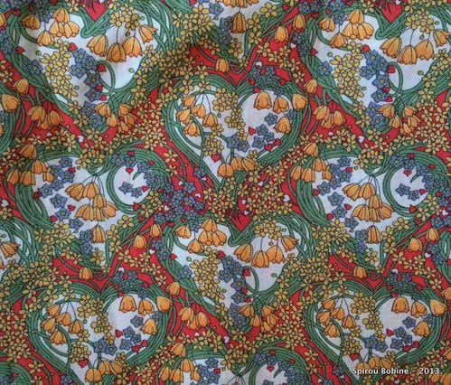 Tissu coton anglais