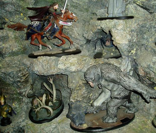 Weta models for Hobbit and LOTR