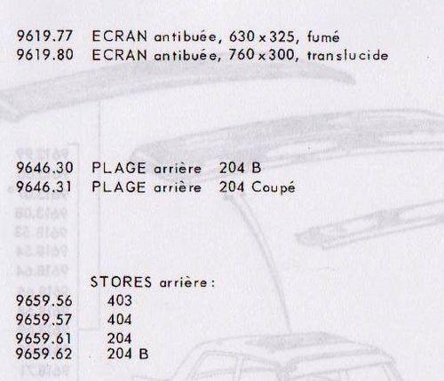 accessoire d'epoque 404 mai 1969,pl 10.1
