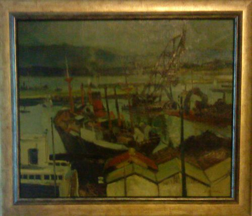 Jacques Burel Port d'Alger
