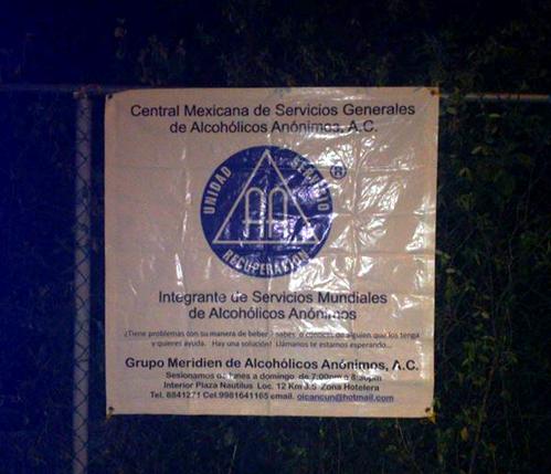MEXIQUE 657a cancun QR grupo meridien
