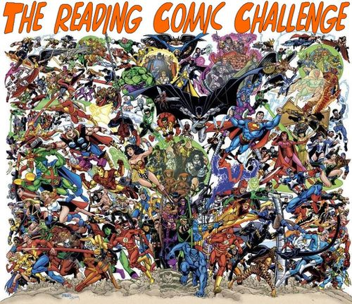 The reading Comics challenge logo2