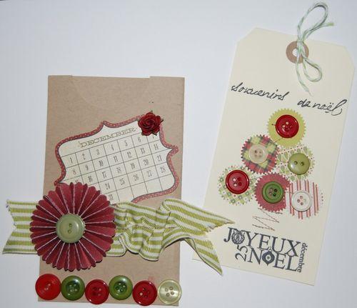Carte pochette de Lolo Noël 2012 n°2