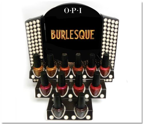 opi shimmers Burlesque