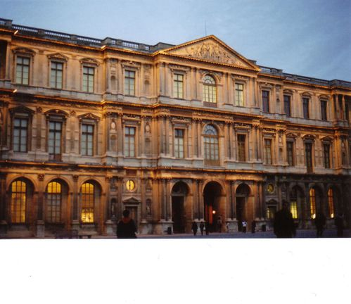 Cour du Louvre Fevrier 08