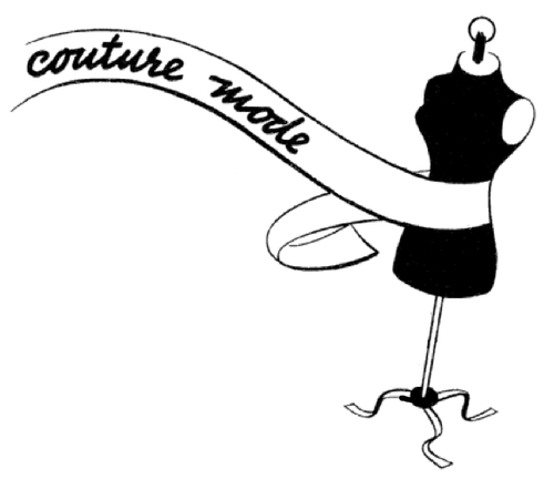 Couture modes 1930s