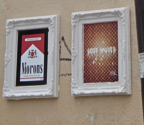 Kaï Aspire Marlboro Vuitton street-art