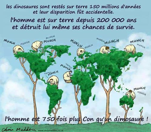 Connerie Humaine Notre Terre