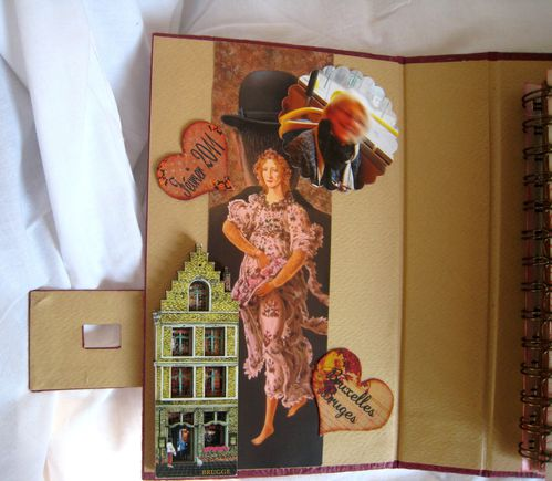 album Colette R (hommage dan)en rouge