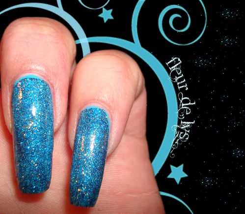 Vernis OPI bleu ( Absolutely Alice )
