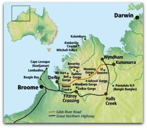Carte Kimberley Australie.I Survived The Gibb River Road Osm Oz
