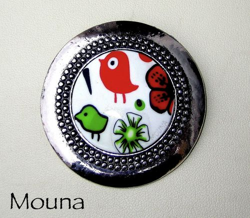 Broche Piou piou DISPONIBLE: 17 euros.