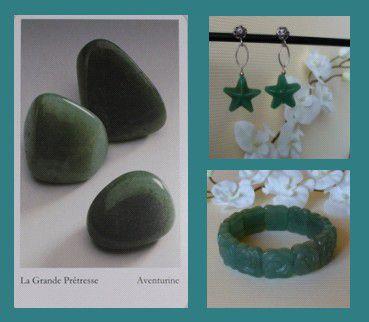 bijoux pierres aventurine