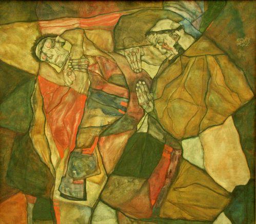 Schiele 1890-1918, Egon, Tulln, Austria Agonie