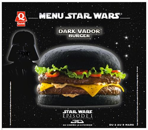 Affiche Quick Dark Vador burger